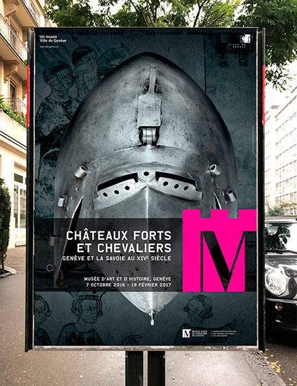 MUsée d'art et D'histoire Genève / EXPO Châteaux forts et Chevaliers