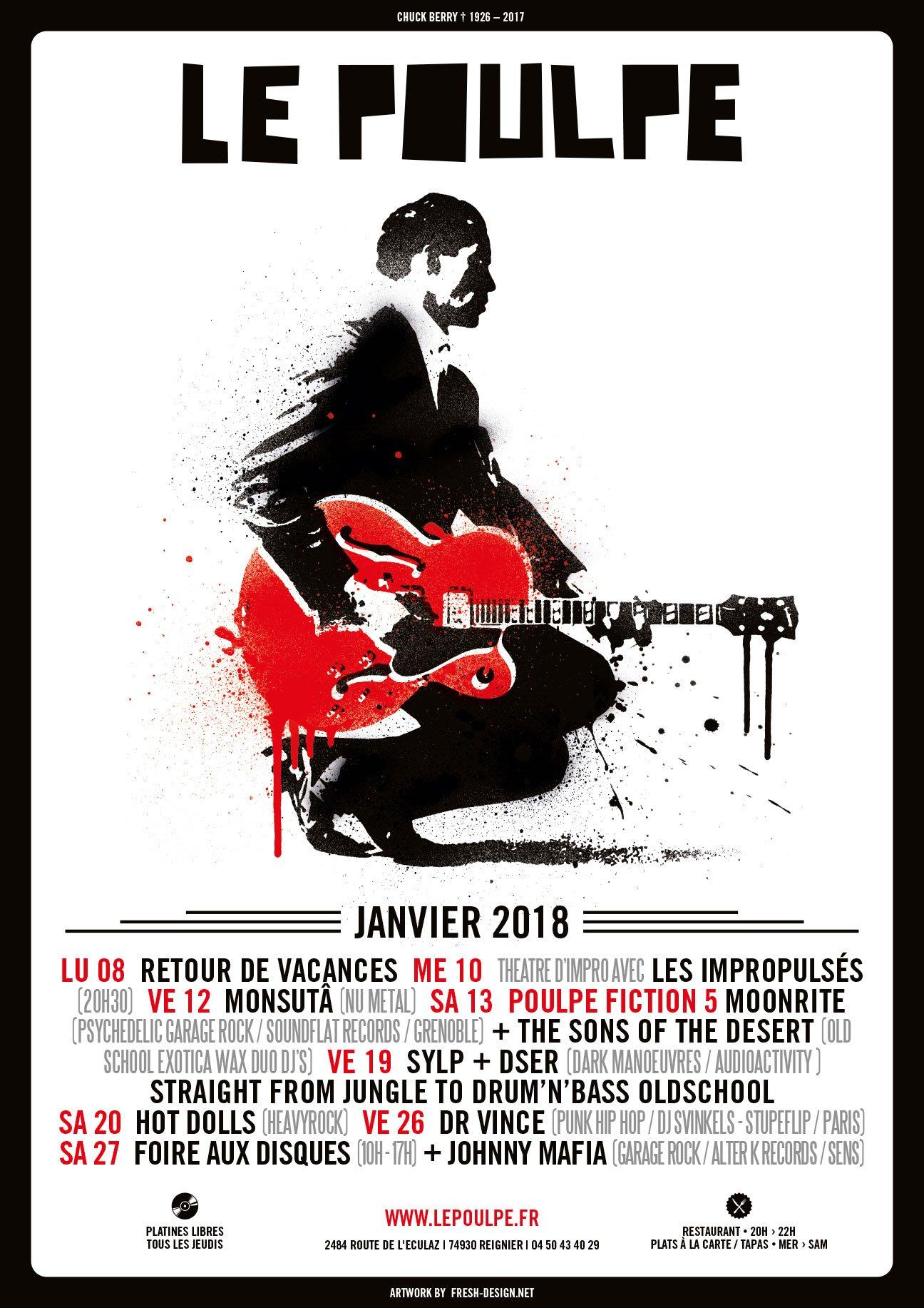 Fabien_cuffel_LePoulpe_Resto_Bar_Concert_Affiche_2018_Chuck-Berry