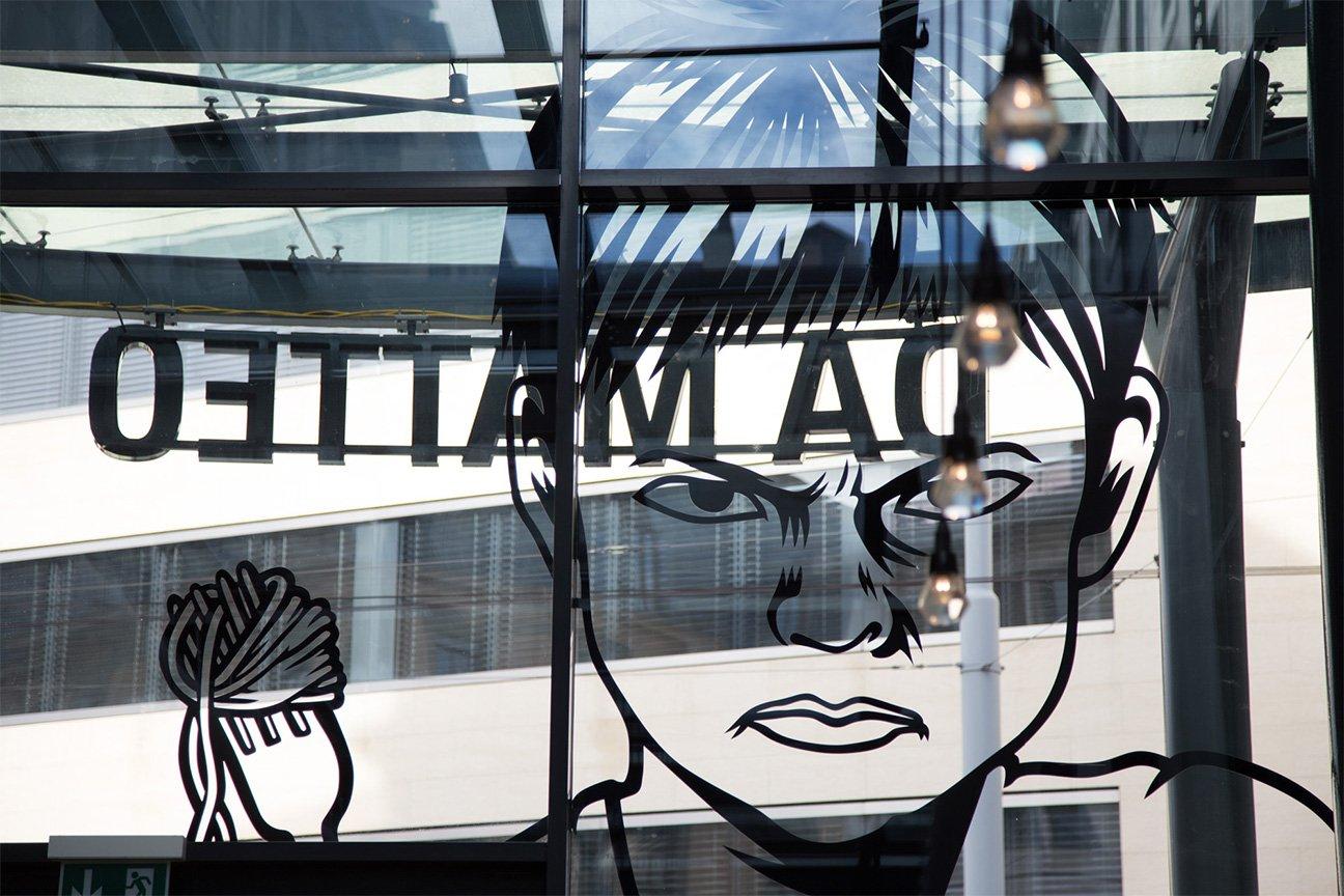 Identité forte pour le nouveau restaurant de Cyril Frutiger « DA MATTEO », à Genève