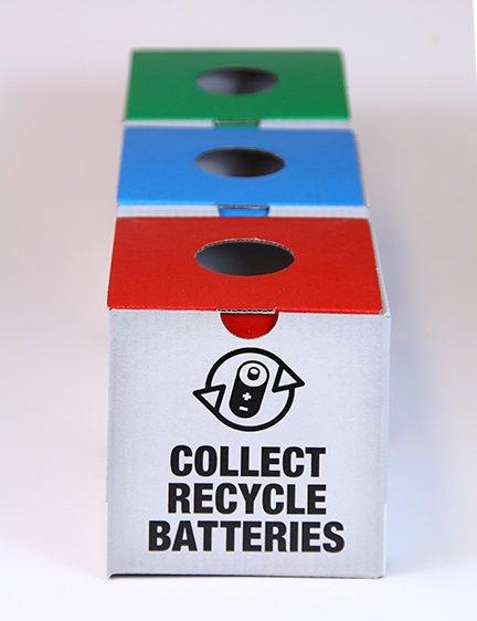 VILLE DE Geneve / recyclage piles