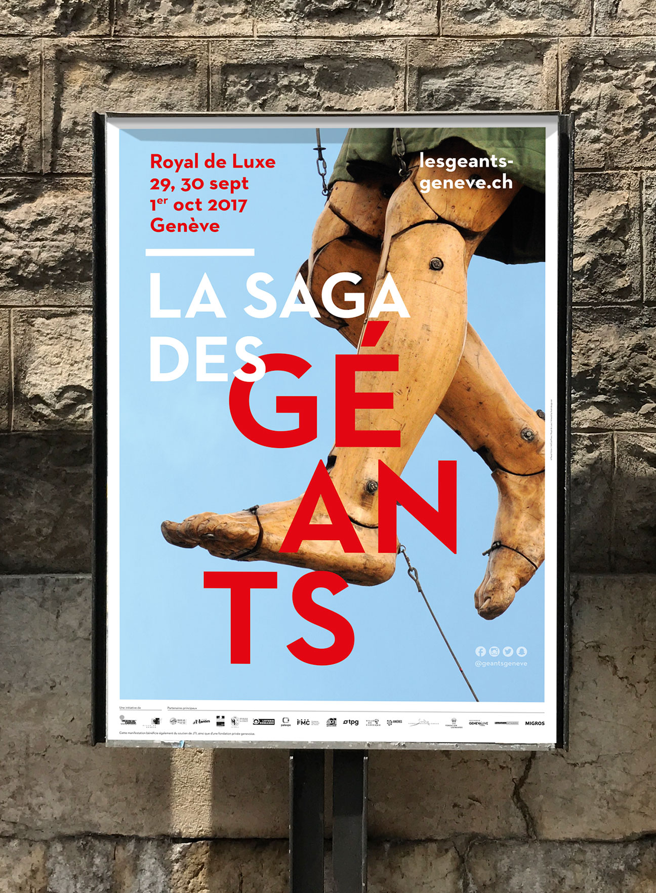 Réalisation d'une série d'affiches artistiques, très garphiques, pour les Afterworks du Musée d'Art et d'Histoire de Genève (MAH)
