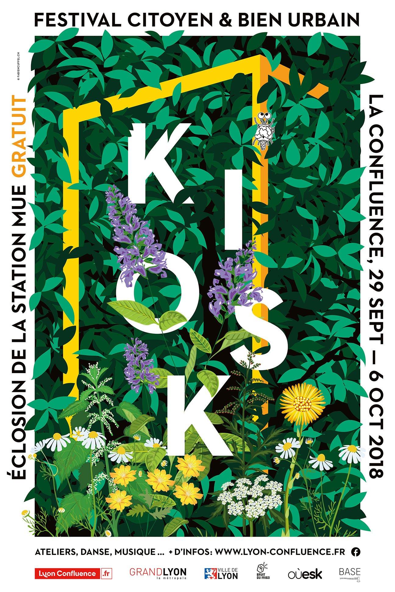 Fabien_cuffel_affiche_festival_Kiosk_lyon_confluence_2018