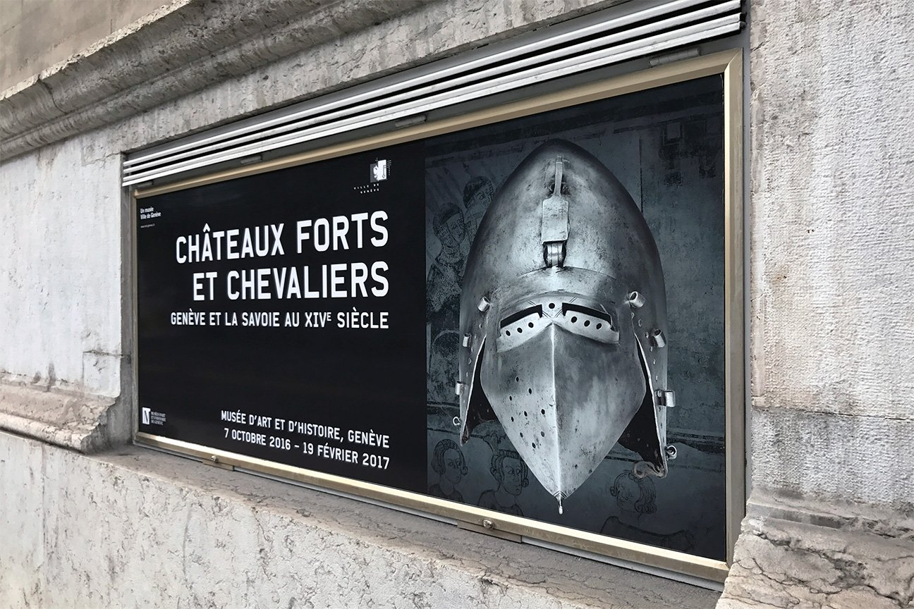 Fabiencuffel_MAH_Affiche_expo_Chateau-forts-et-chevaliers