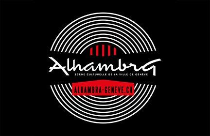 ALHAMBRA GENèVE / SALLE DE CONCERT / LOGO