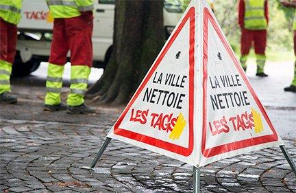 Ville de genève / Campagne anti-tag