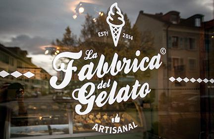 FAbbrica del Gelato  / ice cream shop