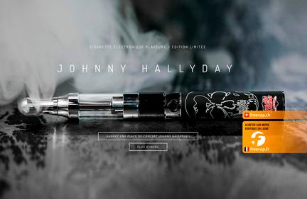 PLAYSURE – cigarette électronique Johnny Hallyday